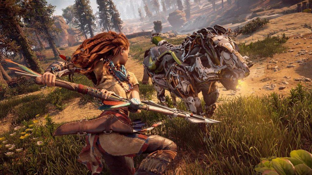 Pack fuite d'Horizon: Zero Dawn pour PC avec un processeur AMD Ryzen