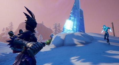 Fortnite Ice Storm Challenge Inflige des dégâts avec des armes explosives à la Légion de glace