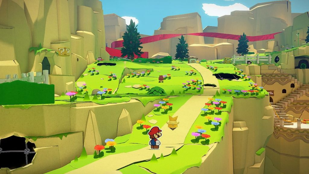 Nouveau gameplay et nouvelles de Paper Mario: The Origami King pour Nintendo Switch