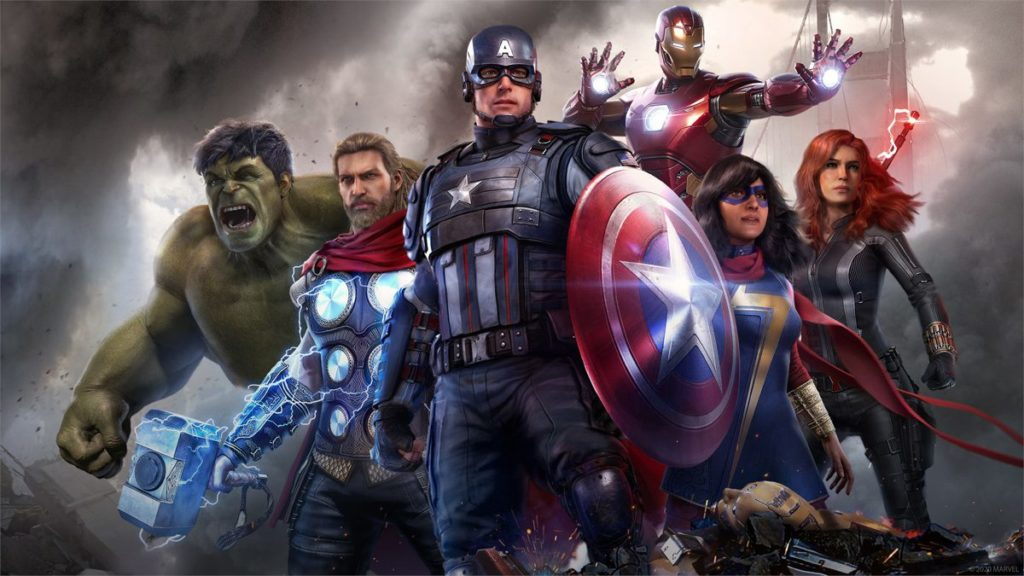 Marvel & # 039; s Avengers montre l'apparition possible du capitaine Marvel dans le jeu