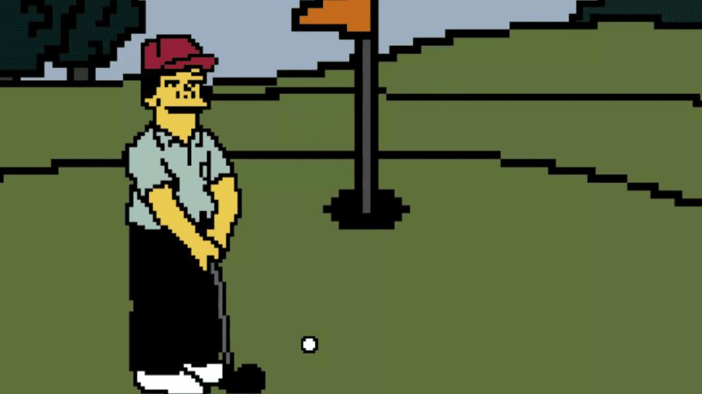 Le jeu vidéo Lee Carvallo & # 039; s Putting Challenge of The Simpsons devient réel