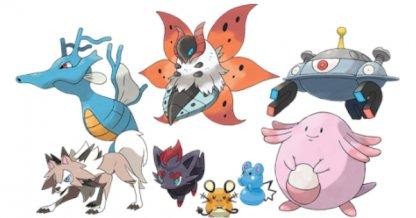 Nouvelle liste de Pokémon