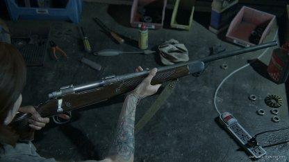 Les armes peuvent être améliorées avec des pièces