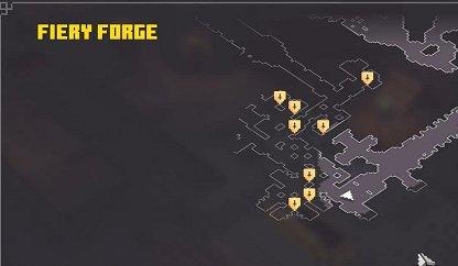 Vérifiez votre carte pour les emplacements principaux