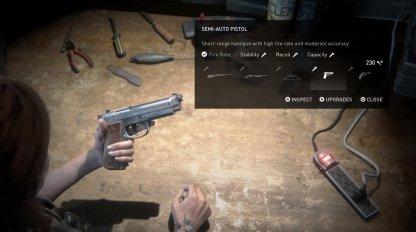 Utiliser des pièces pour améliorer les armes à distance