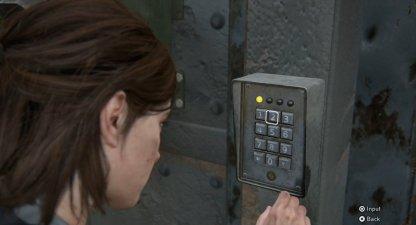 Utiliser la combinaison de mots de passe depuis la porte