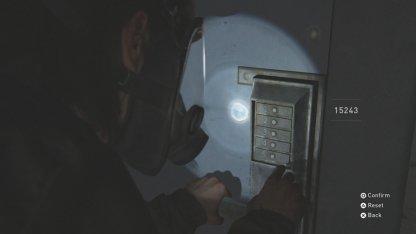 Ouvrez la porte verrouillée pour obtenir l'étui d'arme à feu