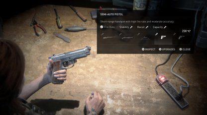 Guide de mise à niveau des armes – Priorité de mise à niveau et effets  – The Last Of Us 2