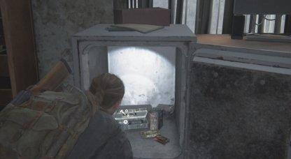 Contenu du coffre-fort de l'appartement