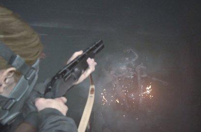 Arme recommandée: lance-flammes et fusil de chasse