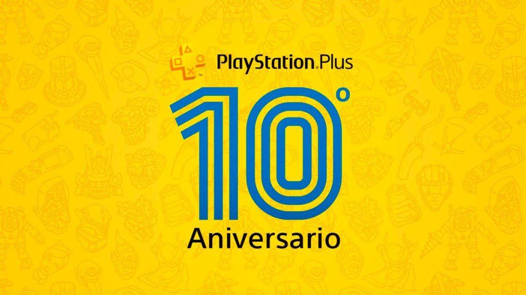 PlayStation Plus présente les jeux et les jalons de juillet de son histoire de 10 ans