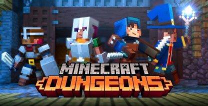 Multijoueur disponible dans Minecraft Dungeon