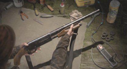 Guide du fusil à pompe – Mises à niveau et emplacement  – The Last Of Us 2