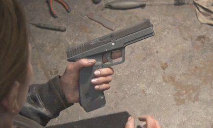 Guide du pistolet militaire – Mises à niveau et emplacement  – The Last Of Us 2