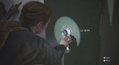 Gym Safe Code Combination – Emplacement et comment déverrouiller  – The Last Of Us 2