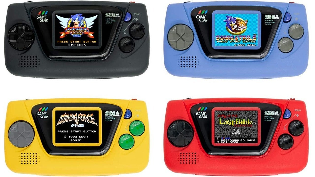 Sega annonce une micro-console de jeu de taille Palm