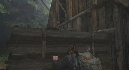 Utilisez un chariot en bois pour grimper