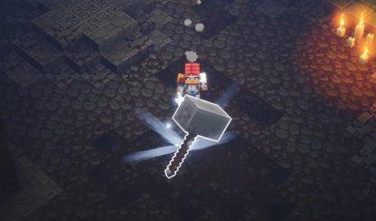 Minecraft Dungeons   Comment mettre à niveau les armes