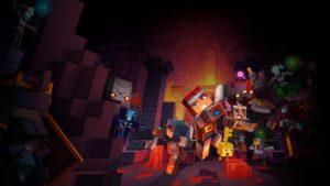 Minecraft Dungeons aura un jeu croisé