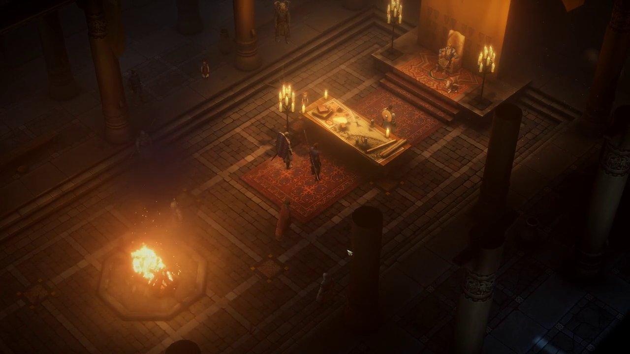 Une capture d'écran de Pathfinder: Kingmaker sur PC