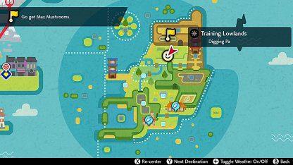 Procédure pas à pas sur l'île d'Armour | Jusqu'au 2e essai | Pokémon épée et bouclier – JeuxPourTous