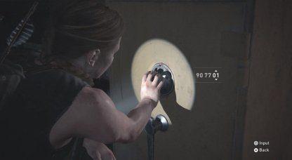 Ship Safe Code Combination – Emplacement et comment déverrouiller  – The Last Of Us 2