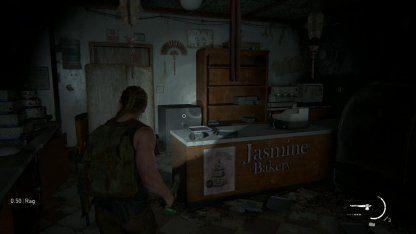 Situé à l'intérieur de la boulangerie Jasmine