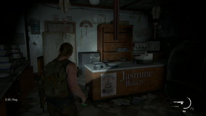Territoire hostile Jasmine Bakery Safe Combination  – The Last Of Us 2