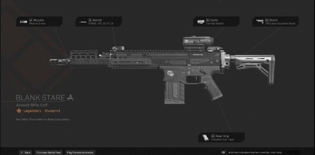 【Warzone】 Blank Stare AR Blueprint – Statistiques et comment obtenir 【Call of Duty Modern Warfare】 – JeuxPourTous