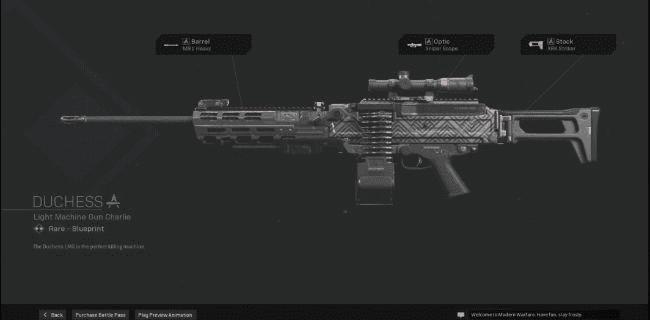【Warzone】 Duchess LMG Blueprint – Statistiques et comment obtenir 【Call of Duty Modern Warfare】 – JeuxPourTous