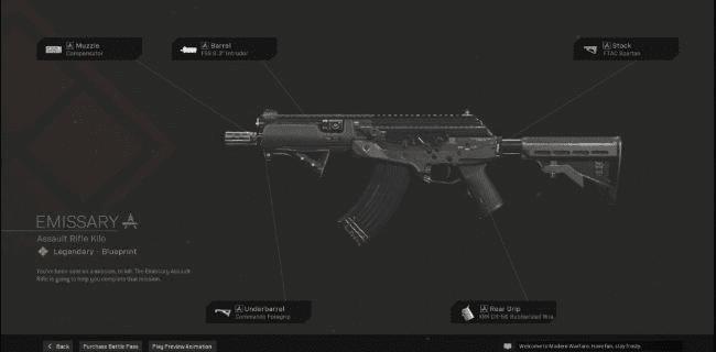 【Warzone】 Emissary AR Blueprint – Statistiques et comment l'obtenir 【Call of Duty Modern Warfare】 – JeuxPourTous
