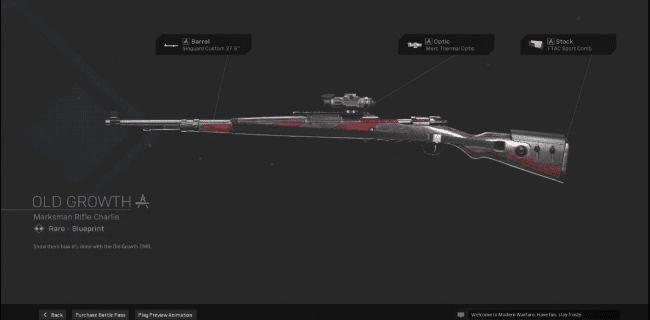 【Warzone】 Old Growth Marksman Rifle Blueprint – Statistiques et comment obtenir 【Call of Duty Modern Warfare】 – JeuxPourTous
