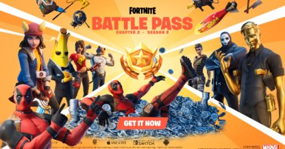 Récompenses du Battle Pass de la saison 2