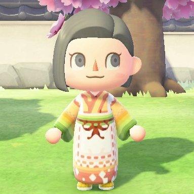 Kimono marron clair