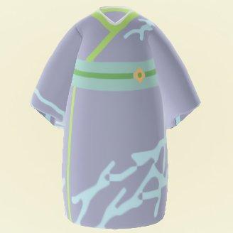Kimono gris foncé