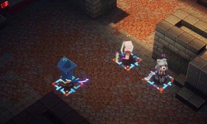 Pas de matchmaking aléatoire dans les donjons Minecraft
