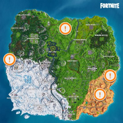 Emplacements ATK