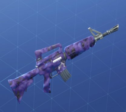 HOT & COLD Wrap - Fusil d'assaut