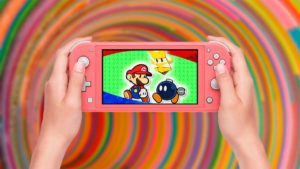 Concours: obtenez un Nintendo Switch Lite coral + Paper Mario: The Origami King