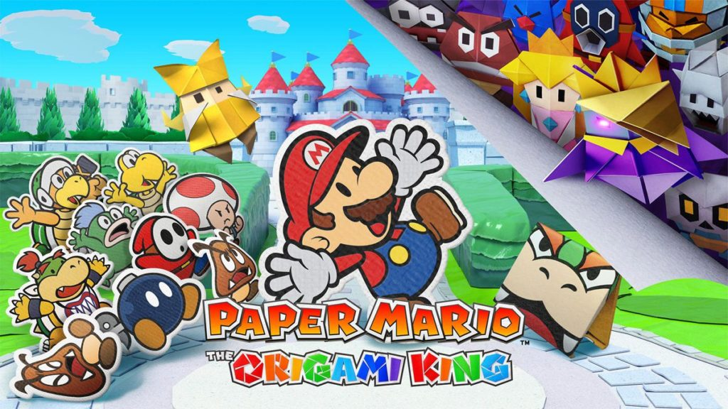 Test de Paper Mario: The Origami King pour Nintendo Switch