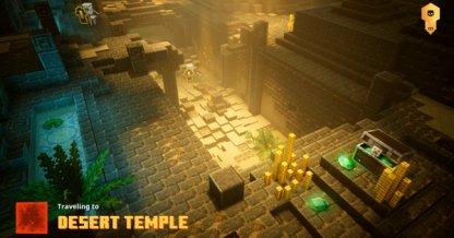 Trouvé dans le temple du désert