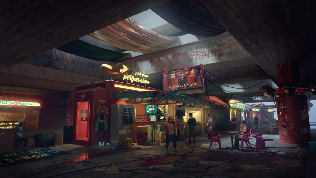 Cyberpunk 2077 présente le quartier Heywood dans les nouveaux arts