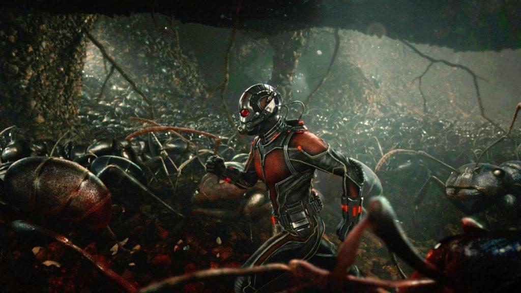 La bataille finale des Avengers: Endgame a des fourmis géantes dans cet art officiel abandonné