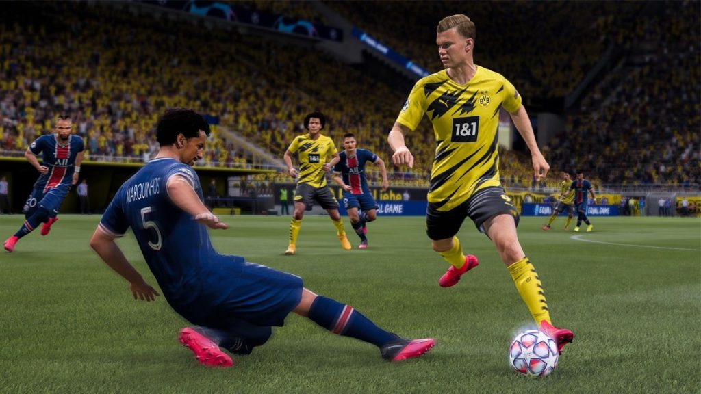 FIFA 21: filtré plusieurs vidéos avec gameplay