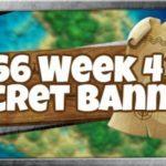 Emplacement de la bannière secrète de la saison 6, semaine 4