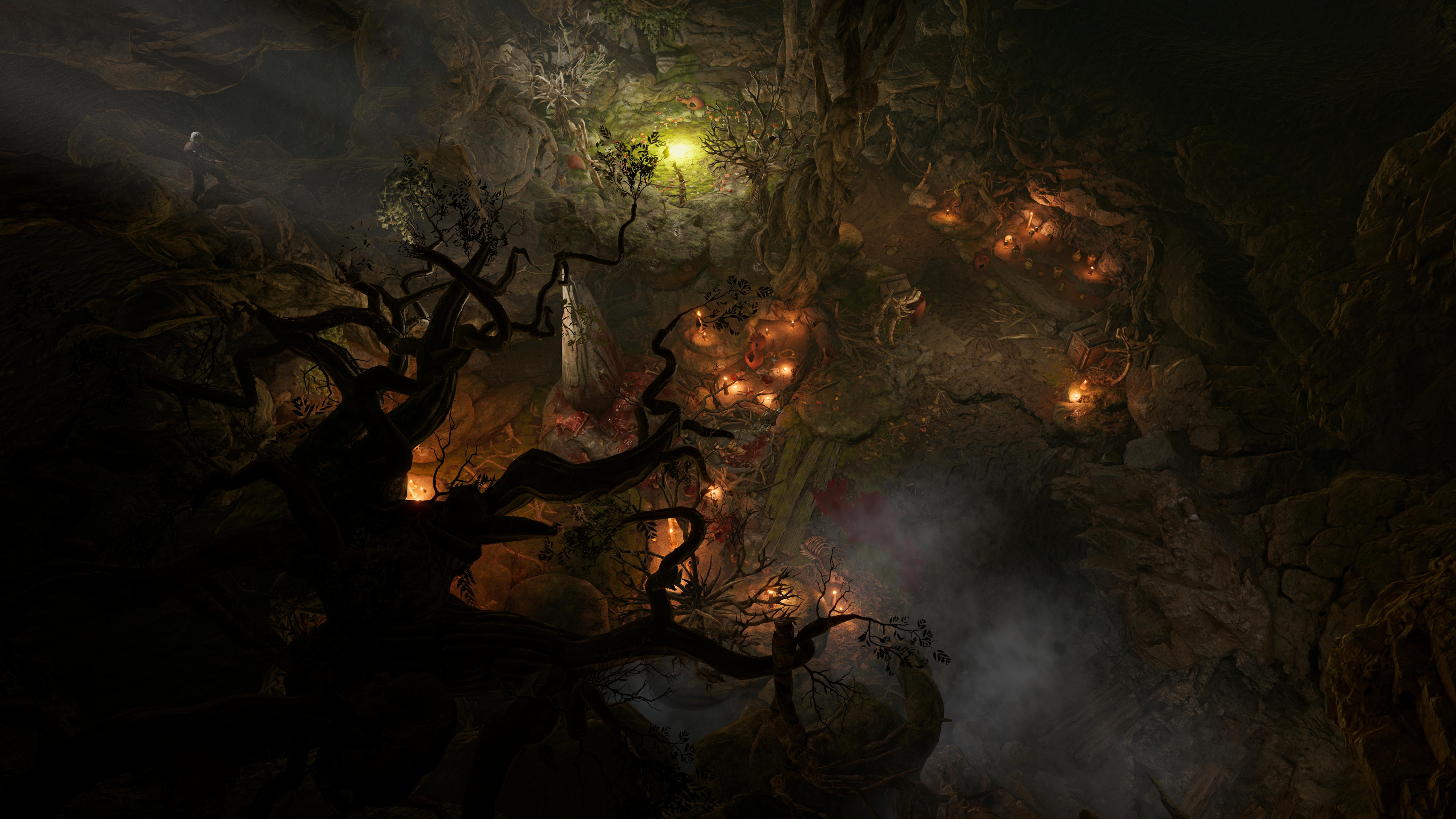 Capture d'écran de gameplay de Baldur's Gate 3, le nouveau RPG de Larian Studios construit sur D&D 5e édition.