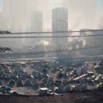 Cyberpunk 2077 montre le quartier de Santo Domingo dans les nouveaux arts