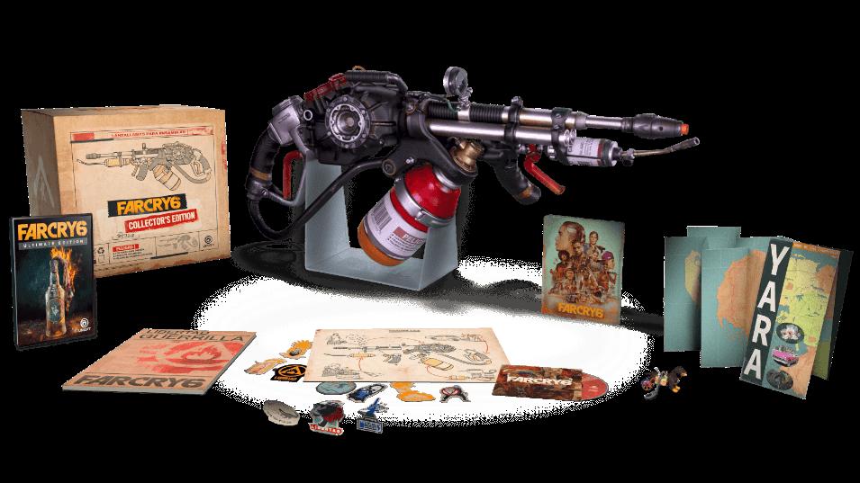 Far Cry 6 a une édition collector de 200 euros