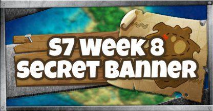 Emplacement de la bannière secrète de la saison 6, semaine 6