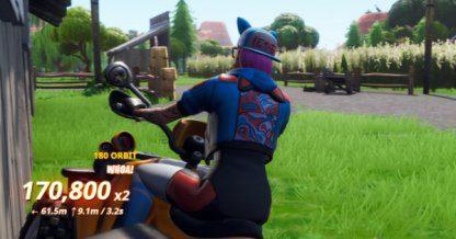 Fortnite | Land Tricks dans un véhicule à des endroits nommés – Défi 14D – JeuxPourTous